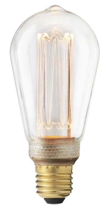 Edison E27 Future LED 3,5W dimbar