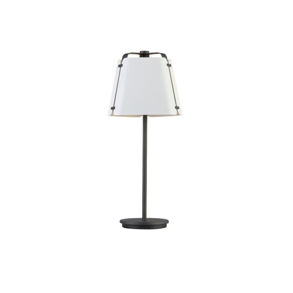 Fold bordslampa antracit/vit