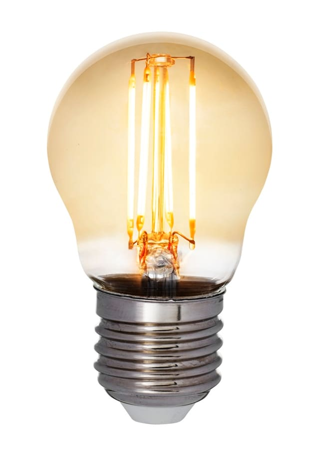 Klotlampa filament antique LED 5W E27