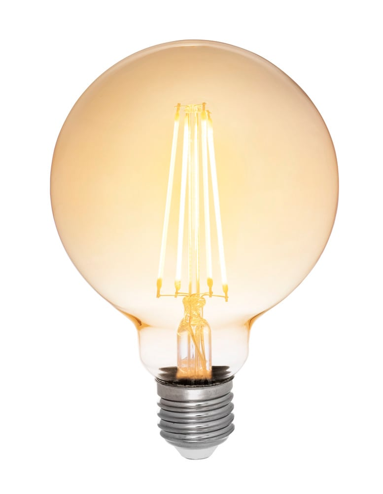 Glob LED antique 95mm E27 dimbar