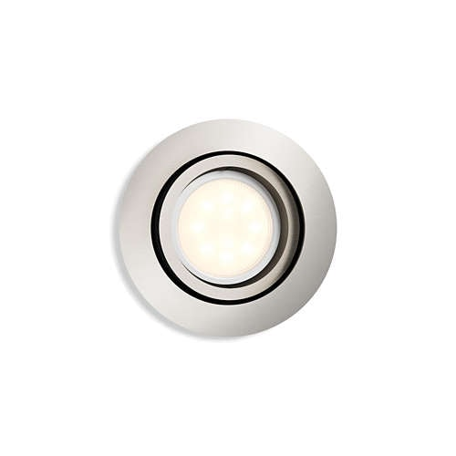 Shellbark spotlight LED Matt krom 4,5W