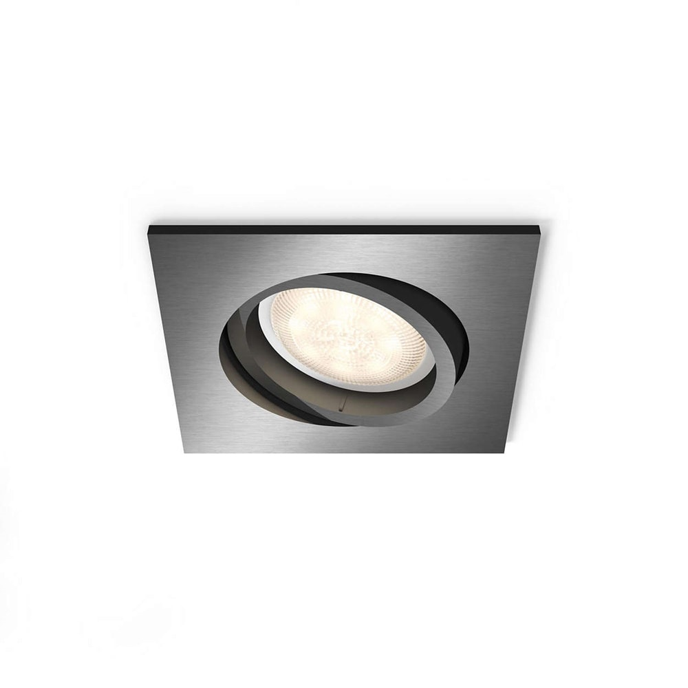 Shellbark kub spotlight LED grå 4,5W