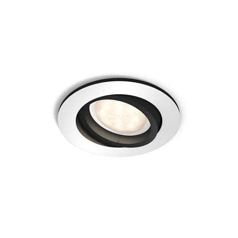 Milliskin rund spotlight LED Philips Hue Aluminium