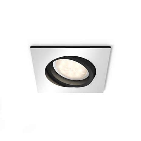 Milliskin kub spotlight LED Philips Hue Aluminium