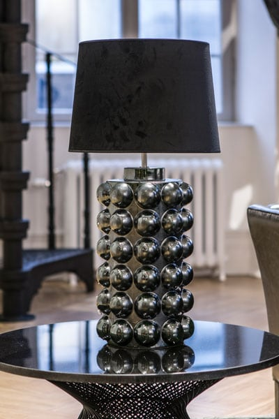 Bubbels bordslampa 29 svart