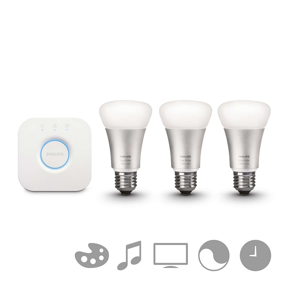 Philips Startpaket E27 White and color ambiance