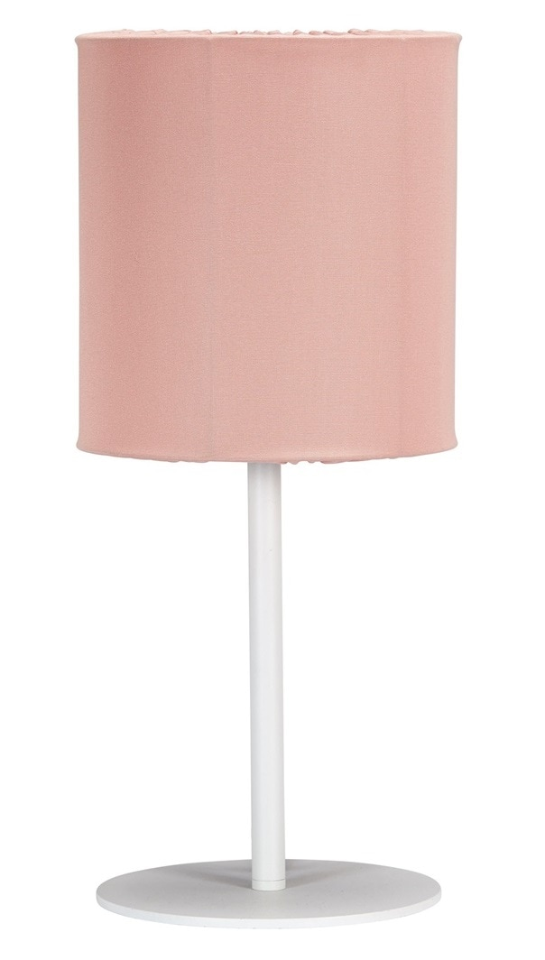Agnar bordslampa outdoor vit/rosa
