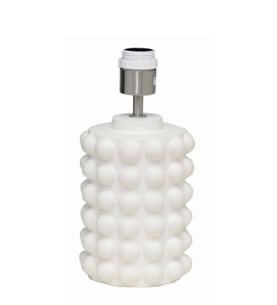 Bubbels bordslampa 29 vit