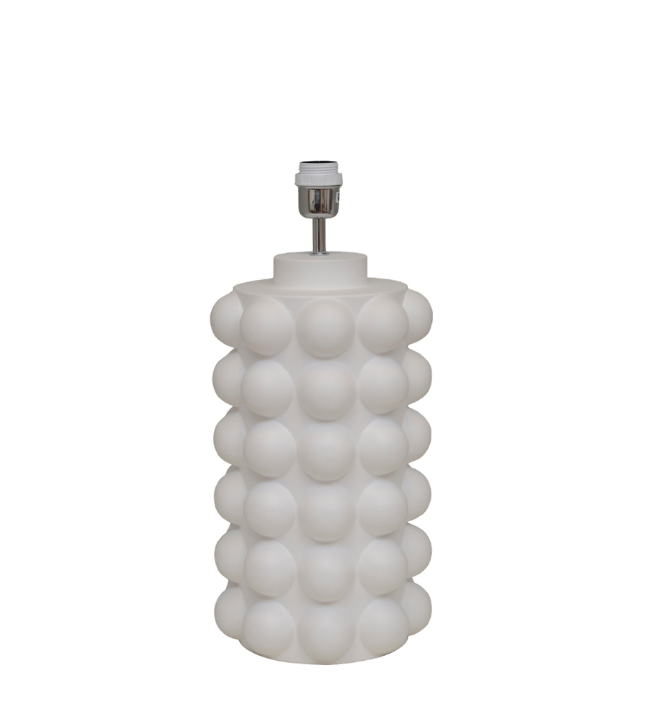 Bubbels bordslampa 49 vit