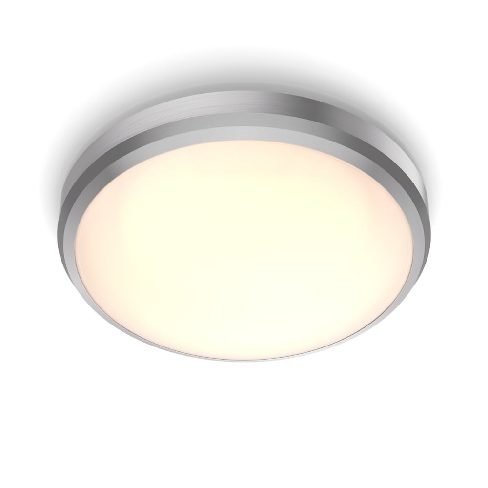 Doris plafond 22 nickel varmvit