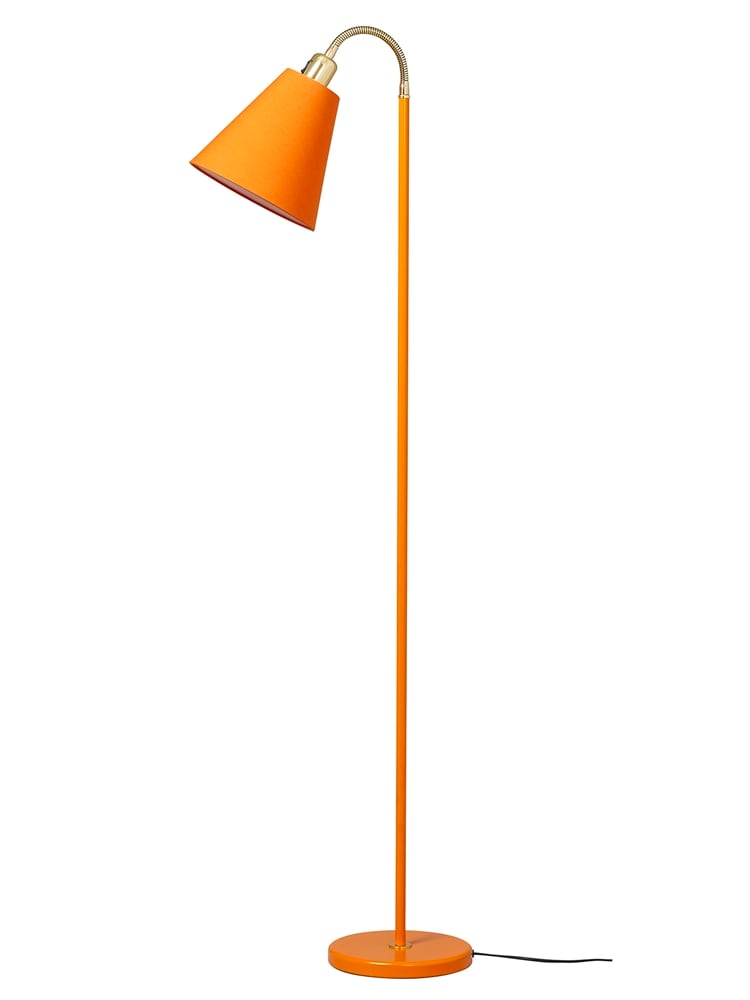 G 932 Haga golvlampa orange