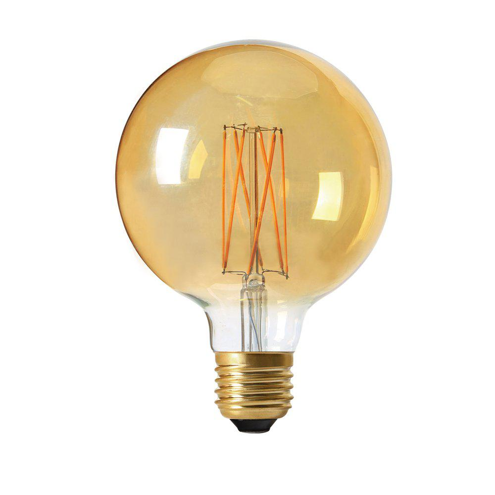 Glob LED 125mm 2,5W E27 Gold