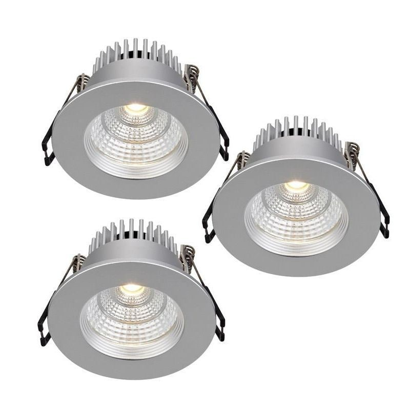 Ares downlight 3-pack silver